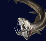 Агрессивная рыба-гадюка